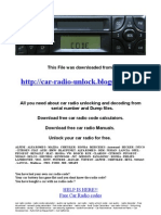 Becker Ersatzteile Typ 4603ETL Car Radio Diagrams