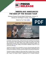 Justin Timberlake announces Salt Lake City tour date