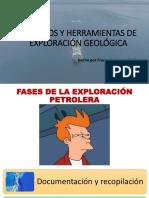 Tema 6 Métodos y Herramientas de Exploración Geológica