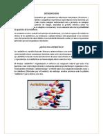 Clasificación de Los Antibioticos
