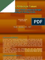 199248_2. Materi Teknik Perbaikan Tanah (Preloading+Vertikal Drain)