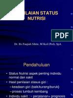 Penilainan St Nutrisi Magist