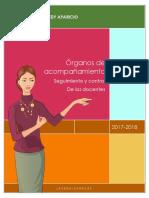 Órganos de Acompañamiento seguimiento y control o evaluación de los docentes