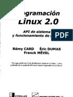 Programación Linux 2.0-Api de sistema y funcionamiento del núcleo