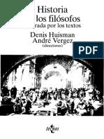 Historia de Los Filósofos