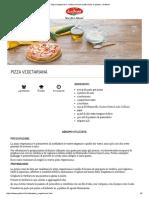 Pizza Vegetariana_ Ricetta Secondo Piatto Facile e Gustoso _ Galbani