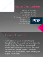 Theories on Diastrophism