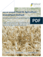 2018 Global Food & Agriculture Investment Outlook