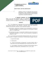 Regimento Conselho Municipal Ambiente