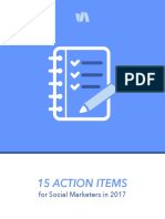 15 Action Items for Social Marketers in 2017