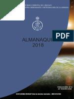 Almanaque 2018 Lunar