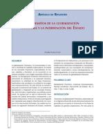 Desafias Globalización Financiera