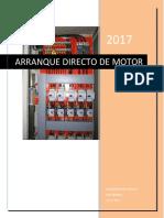 Informe Arranque Directo JHR