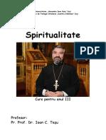 Curs Spiritualitate