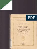 Milton Erickson, Ernst L. Rossi, Sheila I. Rossi-Tecniche Di Suggestione Ipnotica-Astrolabio (1979)