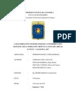 Abra El Gavilán Caracterización Litoestratigráfica