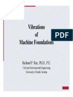 [USC]-Vibrations of Machine Foundations