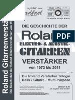 Roland Guitar Amp History 236