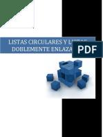 Listas Circulares y Listas Doblemente Enlazadas