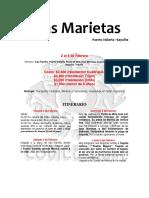 Itinerario IslasMarietas Sayulita Feb2018