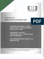 NMX-B-254-CANACERO-2008