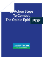 Trone 12 Point Opioid Plan