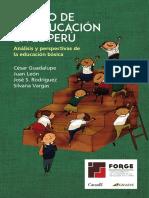 Estado de La Educación en El Perú