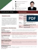 Curriculum Vitae José Del Carmen