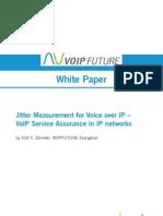 Voip Future Whitepaper Jittermeasurementforrtpmonitoring
