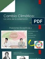 Los Retos de la Adaptación al Cambio Climatico