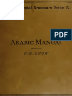 Arabic Manual Levantine F E Crow