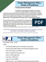 2007-04-18 PII-PMO-PMI