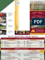 2018 u of m Winter Crops Day
