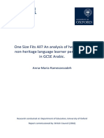 An Analysis of Heritage and Non-heritage Language Learner Performance in Gcse Arabic 28conducted by Anna-maria Ramezanzadeh 2016.Pdf29