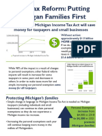 Michigan State Tax Reform Plan 2018