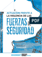 Guia de Actuacion Frente a La Violencia de Las Fuerzas de Seguridad