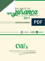 Balanço SSP 2017
