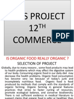 Evs Project 12th Commerce