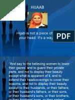 the HIJAAB, niqab ,veil , parda