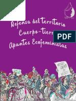 Apuntes Ecofeministas Para La Defensa Del Territorio Cuerpotierra