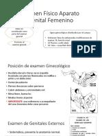 Examen Físico Aparato Genital Femenino capt 95 Guarderas
