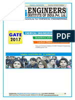 Gate 2017 Detailed Solution Chemical Engineering Ch
