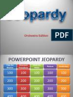 Jeopardy Orchestra Class - Busy Acitivity
