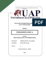 Termodinamica Trabajo Monografico Completo Apa Uap