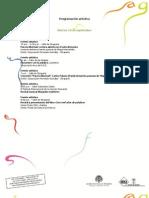 Programación Artística de la Fiesta del Libro 2010