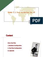 Probe2.2 User Guideline for DT