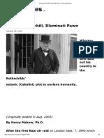 Winston Churchill, Illuminati Pawn - Henrymakow