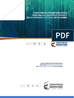 Caracterizacion Metodologica Valoracion Economica Patrimonio