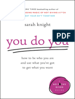 You Do You_ How to Be Who You Are .. by Sarah Knight