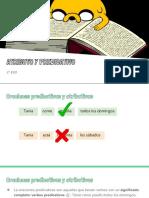 Atributo y Predicativo